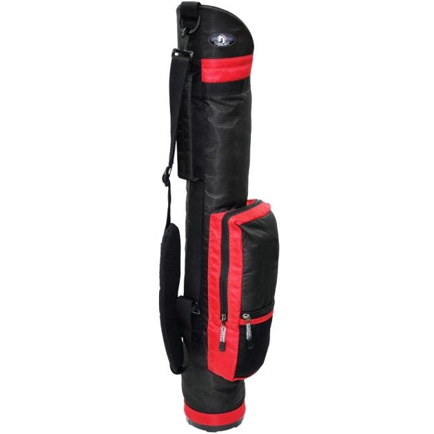 "RJ Sports 6"" Sunday Bag Red"