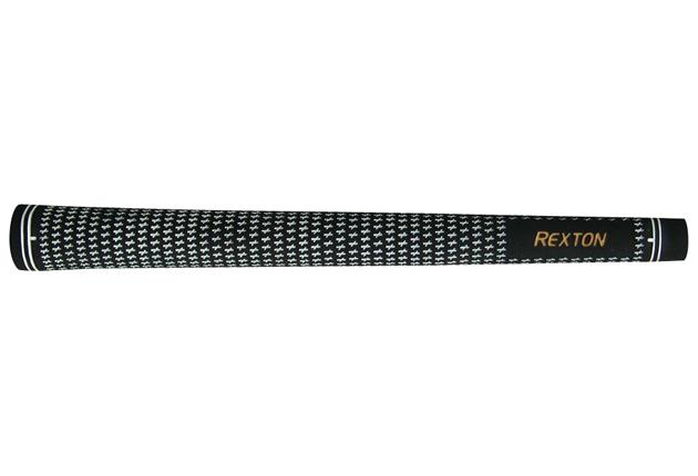 """Rexton Black/White Velvet Midsize (+1/32"""") Grip Kit"""