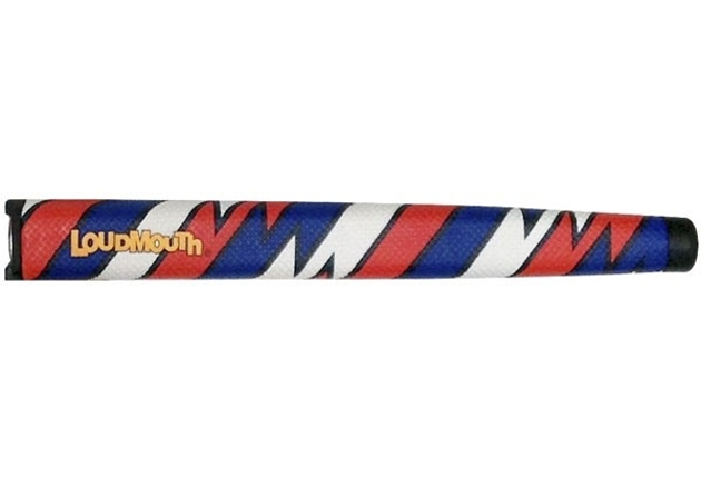 Loudmouth Captain Thunderbolt USA Standard Putter Grip