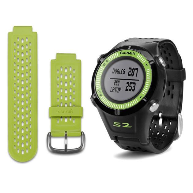 Garmin Approach S2 GPS Golf Watch - Black/Green
