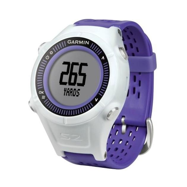 Garmin Approach S2 GPS Golf Watch - Purple/White