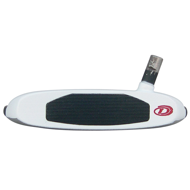 Armada Mallet Putter Head - White/Black
