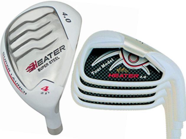 Heater 4.0 White Hybrid / Iron Combo Set (8 Heads)