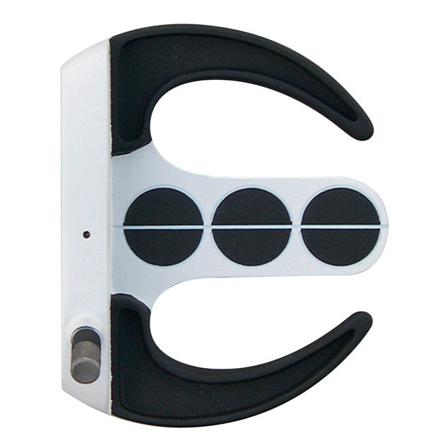 Custom-Built Armada Mallet Putter - White/Black