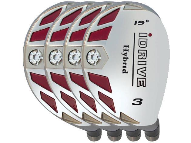 Built iDrive Hybrid 9-Club Graphite Set