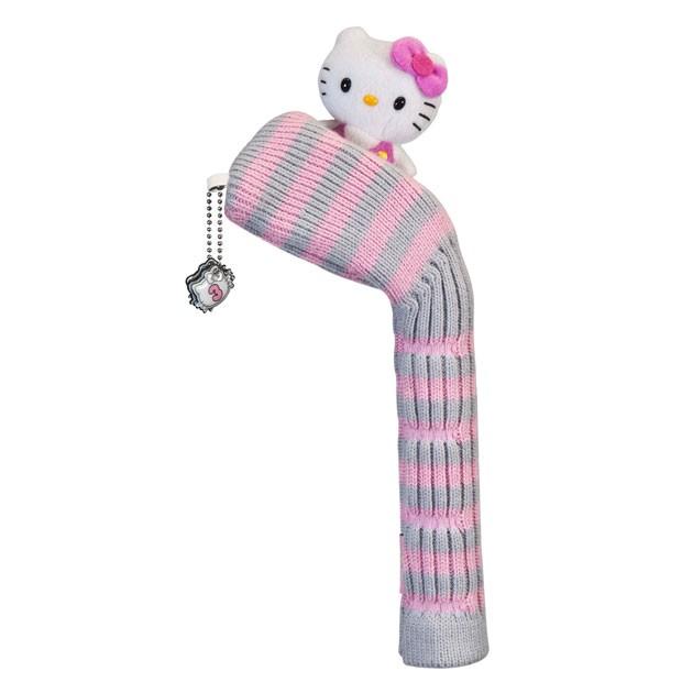 "Hello Kitty Golf ""Mix & Match"" Hybrid Headcover Grey/Pink"