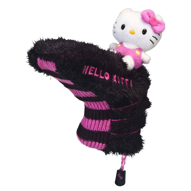 "Hello Kitty Golf ""Mix & Match"" Putter Headcover Black/Pink"