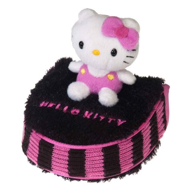 "Hello Kitty Golf ""Mix & Match"" Putter Mallet Headcover Black/Pink"