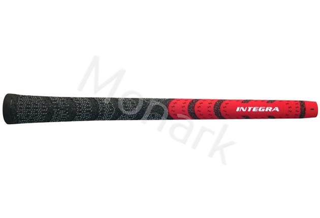 Integra Dual Compound Half-Cord Red/Black Midsize Grip