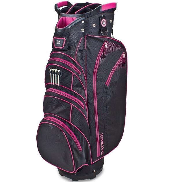 Datrek Lite Rider Cart Bag - Black/Pink