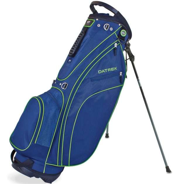 Datrek Carry Lite Stand Bag - Navy/Lime/Silver