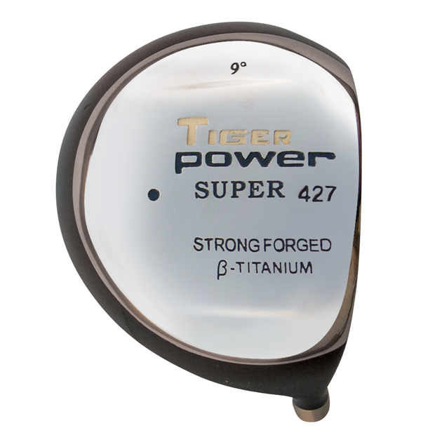 Tiger Power Super 427 Titanium Driver Head