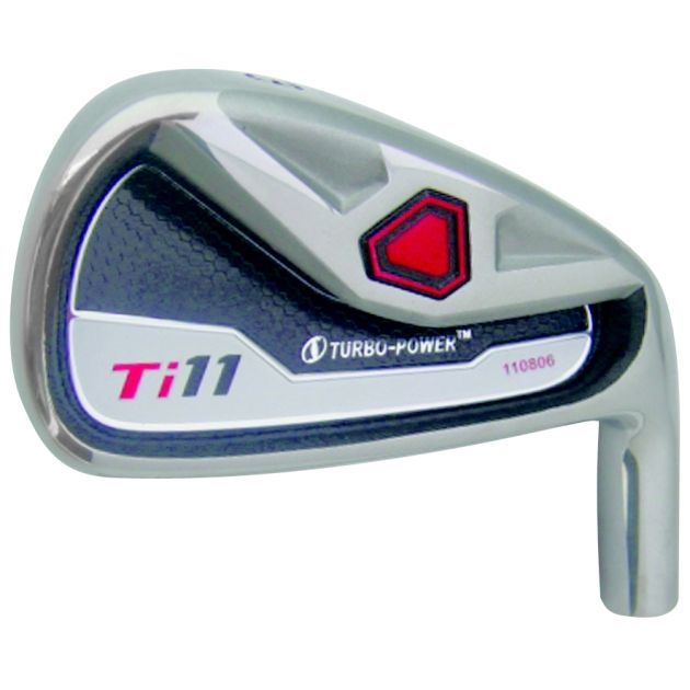 Turbo Power Ti-11 Iron Head Left Hand