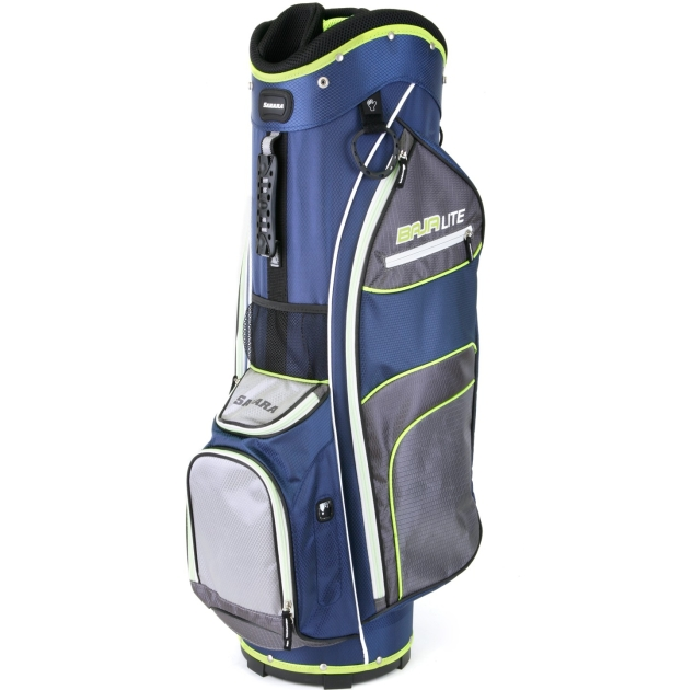 Sahara Baja Lite Golf Cart Bag Navy/Gray/Lime