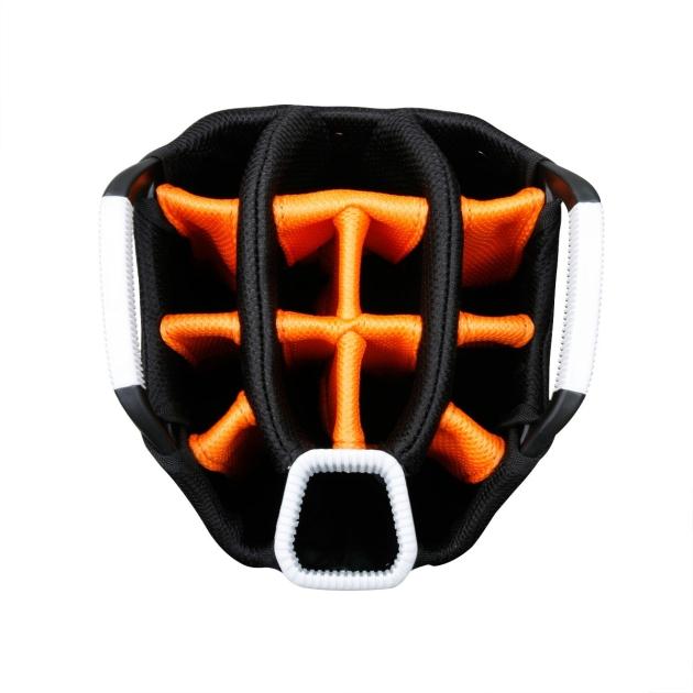 Sahara Gobi Golf Cart Bag White/Black/Orange