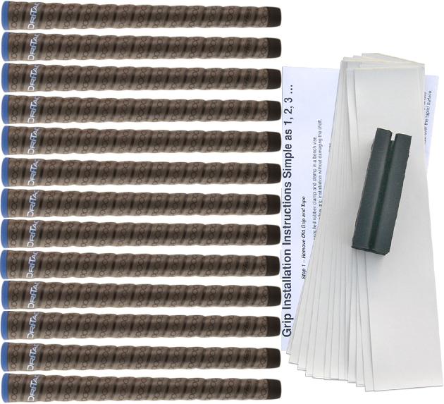 Winn DriTac Wrap Midsize - 13 pc Grip Kit