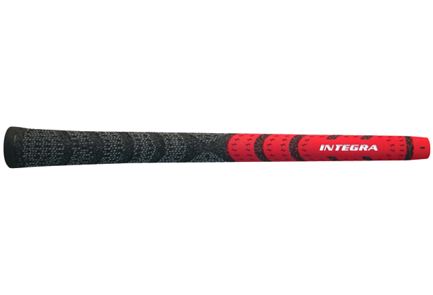 Integra Dual Compound Half-Cord Standard Red/Black - 13 pc Grip Kit