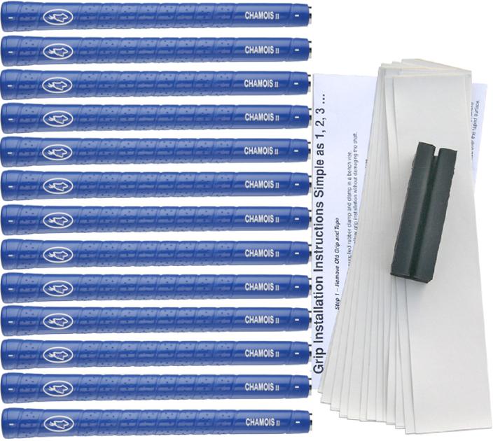 Avon Chamois II Standard Blue - 13 pc Grip Kit