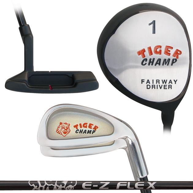 Built Tiger Champ Junior 4-Club Set
