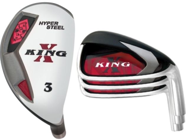 Custom-Built King-X Hybrid / Iron Combo Set (8 Clubs)