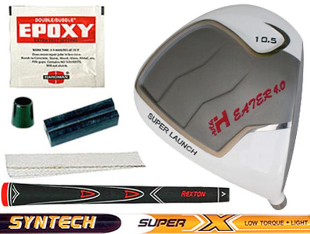 Heater 4.0 White Titanium Driver Component Kit