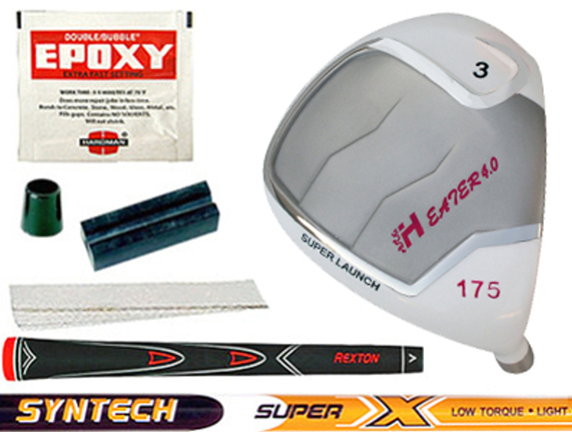 Heater 4.0 White Fairway Wood Component Kit