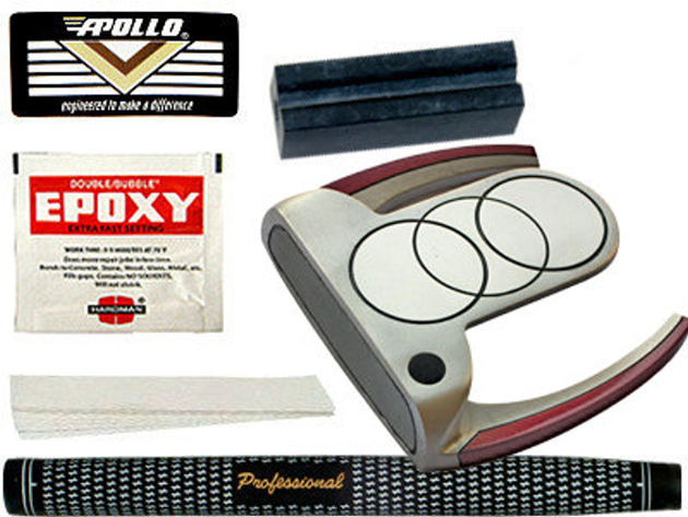 Turbo Power SZ-7 Extended Mallet Putter Component Kit RH