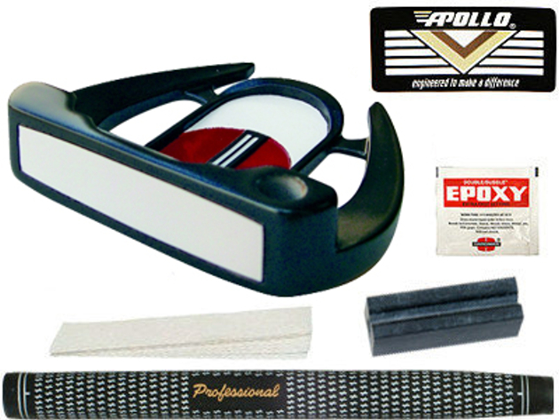 Turbo Power Palmdale Mallet Putter Component Kit LH