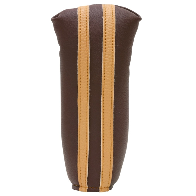 Sahara Retro Brown/Beige Golf Putter Headcover
