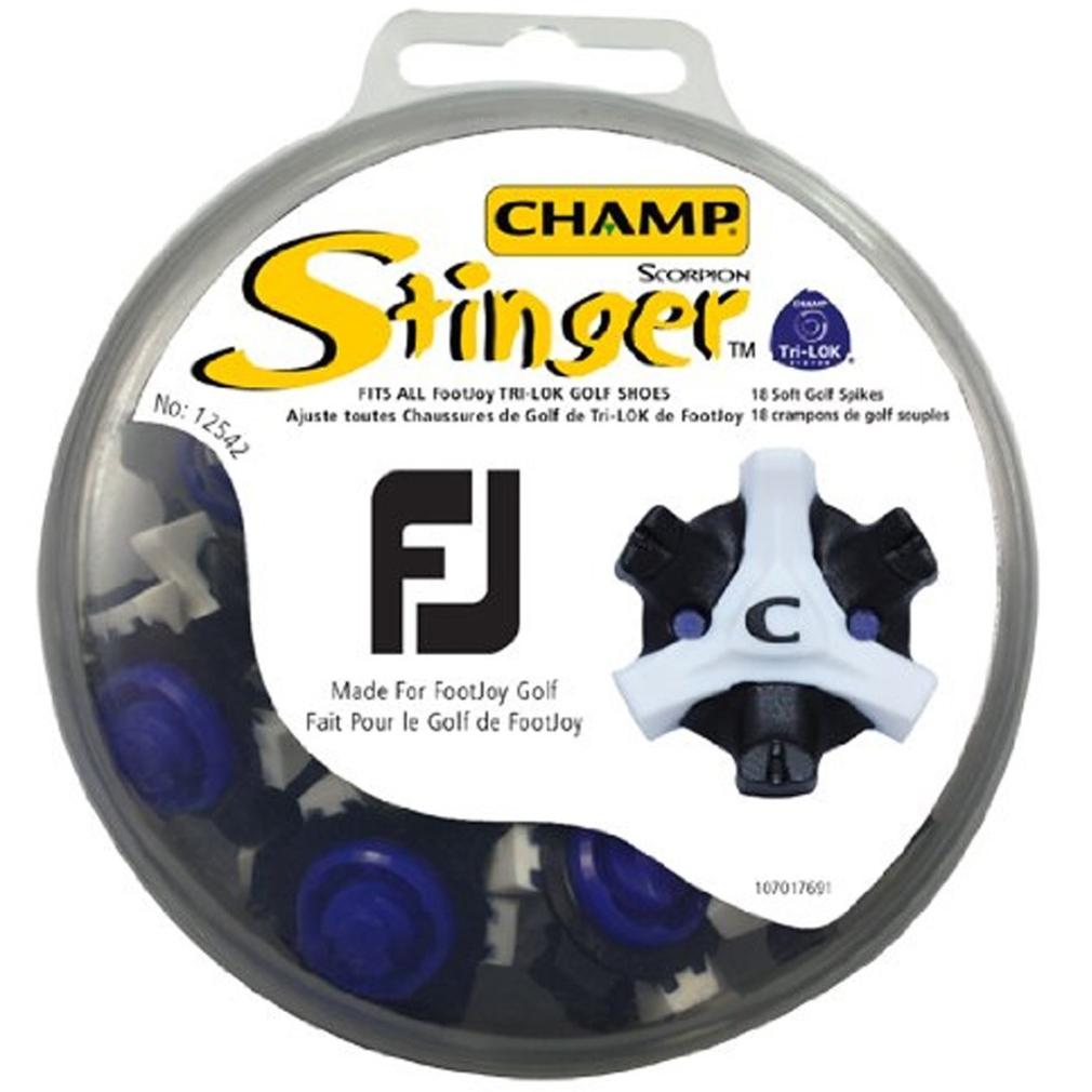 FootJoy ScorpionStinger Black/White Golf Spikes
