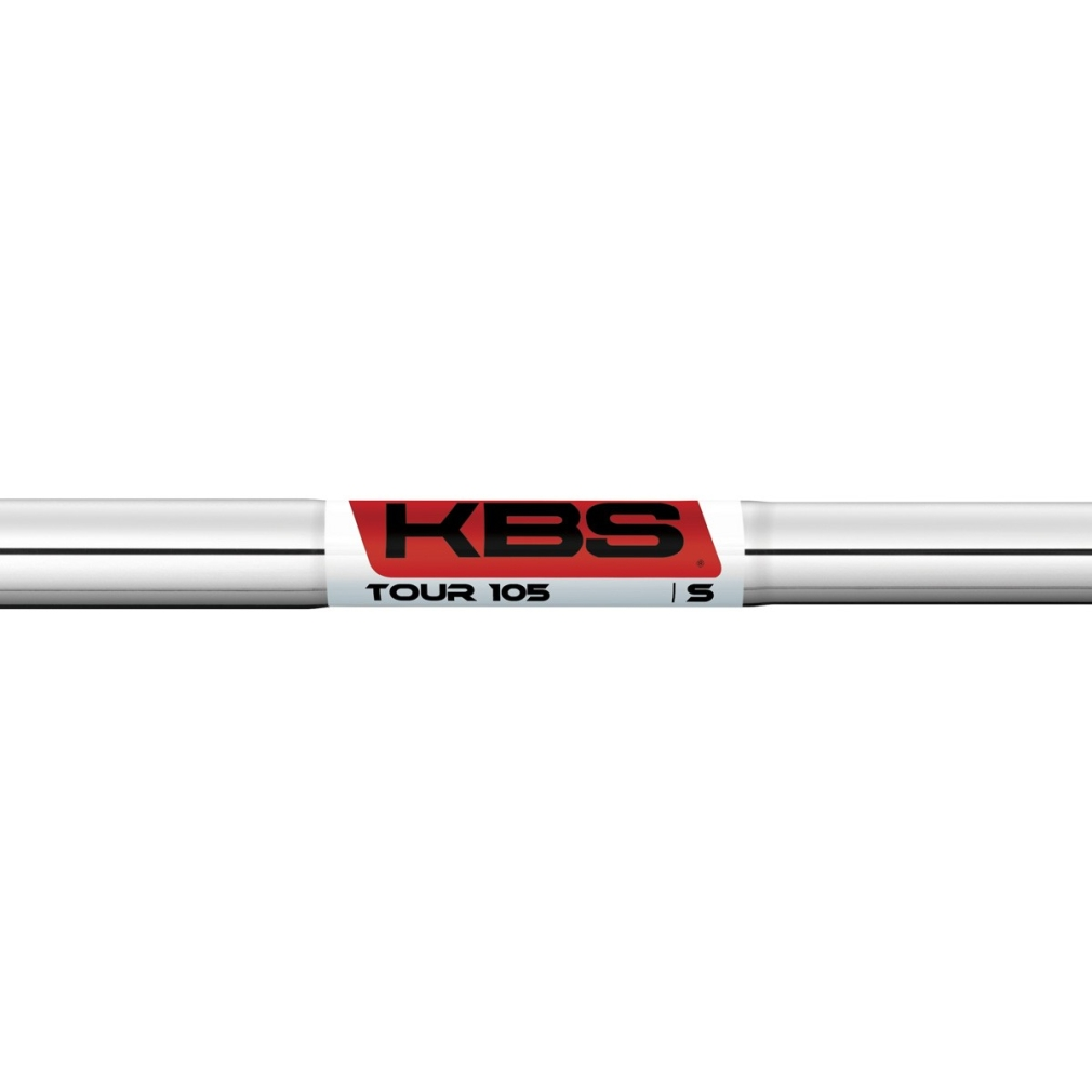 "KBS Tour 105 0.355"" Taper Tip Steel Iron Shafts"