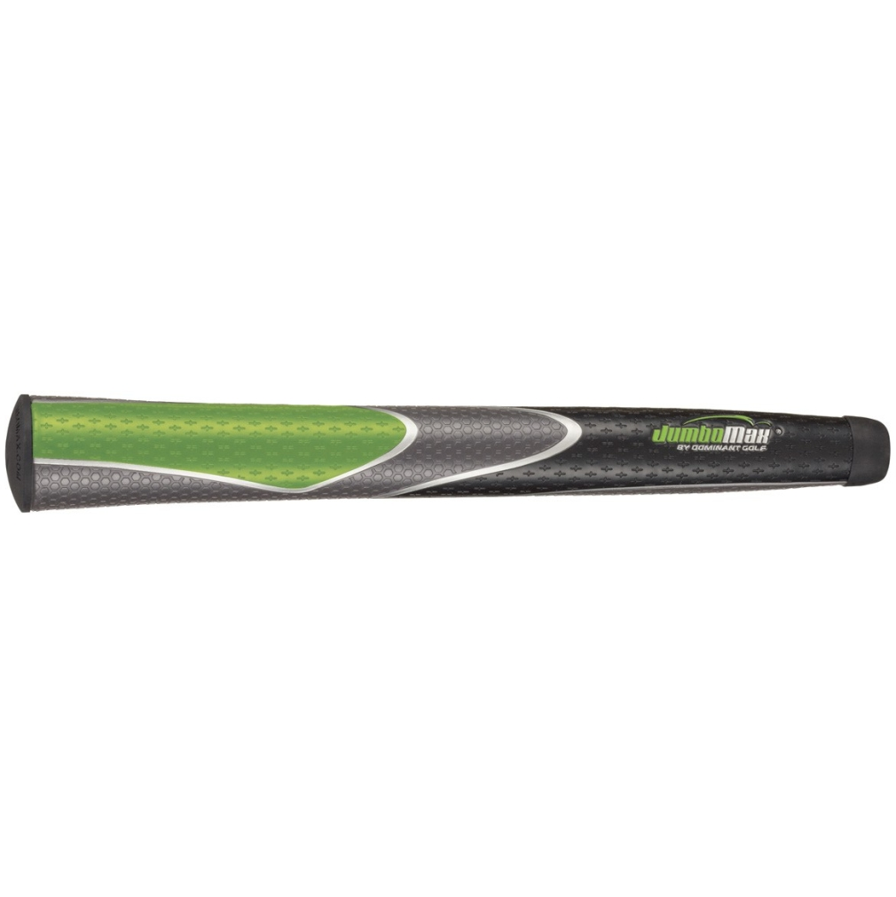 "JumboMax Tour Series X-Large Lime/Black/Grey +3/8"" Golf Grip"
