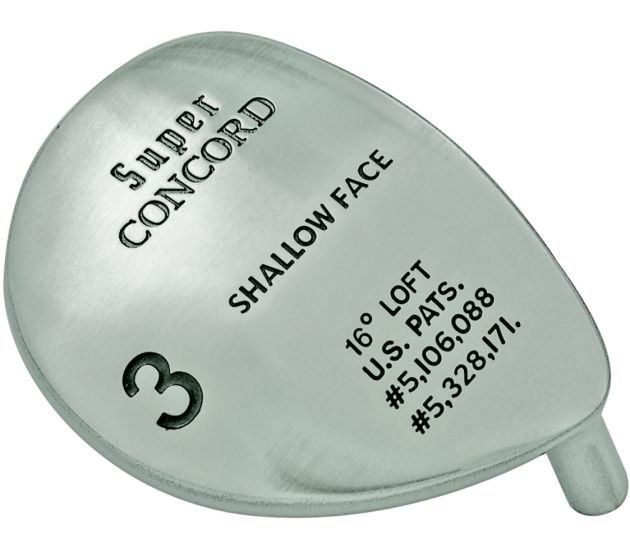 Super Concorde Fairway Wood Head