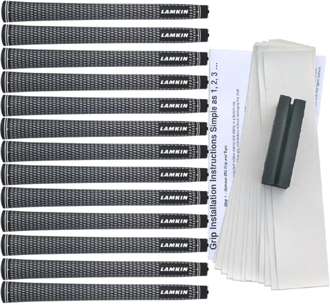 Lamkin Crossline White Undersize Grip Kit