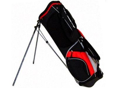 PowerBilt Santa Rosa Stand Bag, Black/Red