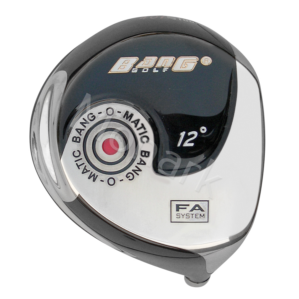 Custom-Built Bang Golf Bang-O-Matic 401 Beta Titanium Driver Black