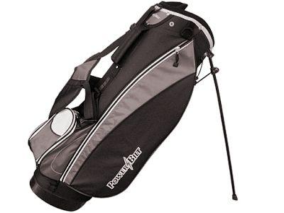 PowerBilt Santa Rosa Stand Bag, Black/Charcoal