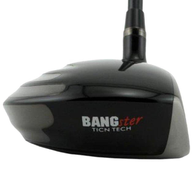Custom-Built Bang Golf Bangster Maraging TiCN Fairway Woods