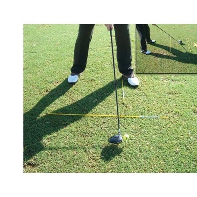 MorodZ Golf Alignment Rods (2-pack) - Yellow