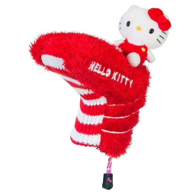 "Hello Kitty Golf ""Mix & Match"" Putter Headcover Red/White"