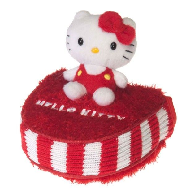 """Hello Kitty Golf """"Mix & Match"""" Putter Mallet Headcover Red/White"""