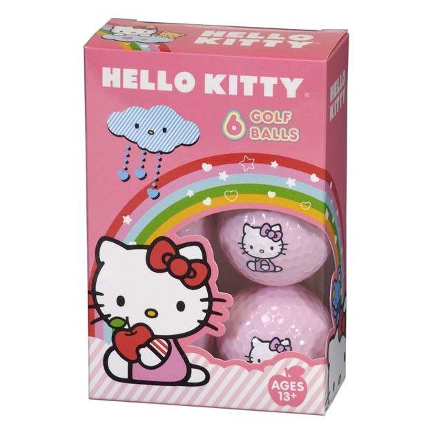 "Hello Kitty Golf ""The Collection"" Golf Balls Master Case 36 Balls"