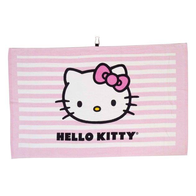 Hello Kitty Golf Tour Towel - Pink