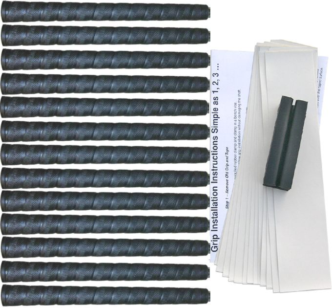 "Tacki-Mac Herringbone Oversize (+3/64"") Grip Kit"