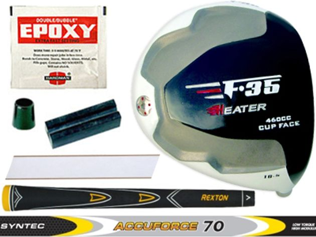 Heater F-35 Cup Face Titanium Driver Component Kit