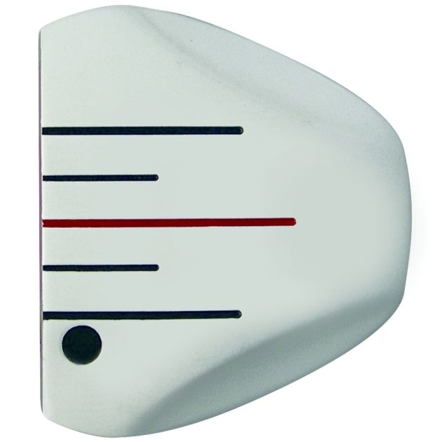 Custom-Built Heater 5.0 White Mallet Putter LH