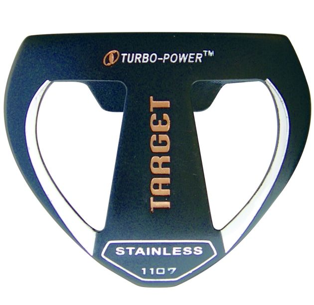 Custom-Built Turbo Power Target Mallet Putter Left Hand