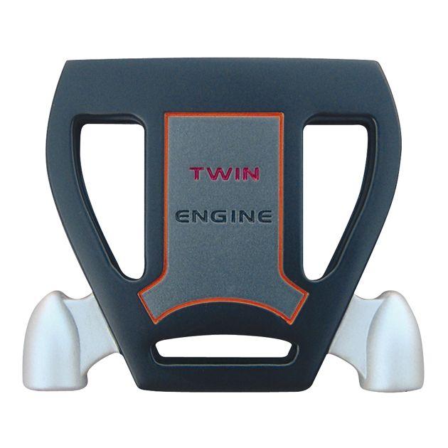 T-7 Twin Engine Black Mallet Putter Head