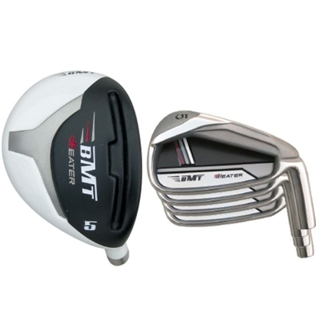 Custom-Built Heater BMT Hybrid / Iron Combo Set (8 Clubs)