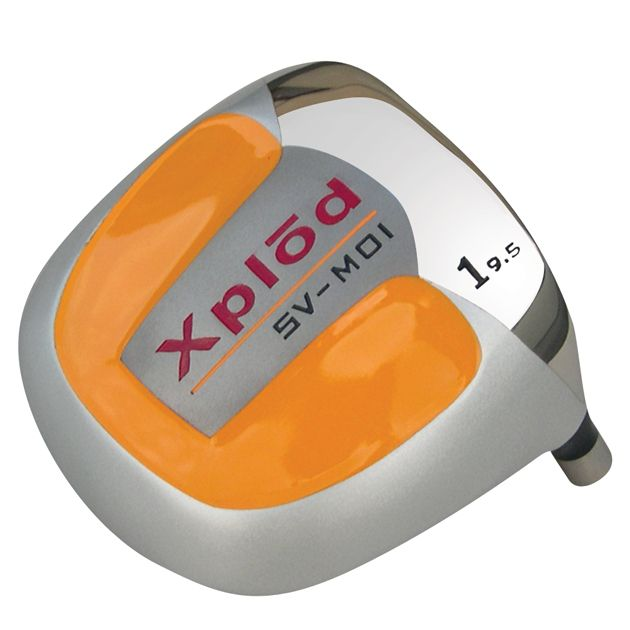 Built Xplod Square Orange Titanium Driver